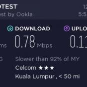 Celcom Broadband at Krai (review)